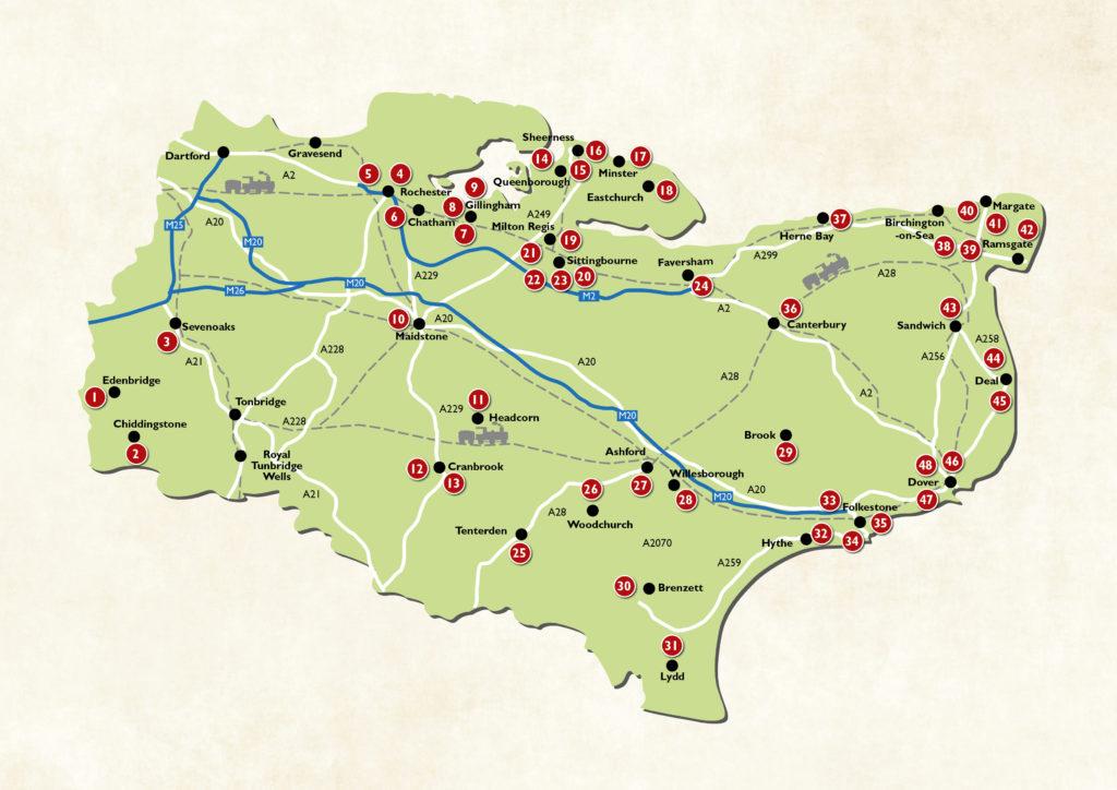 Roamin' Rex 2020 map