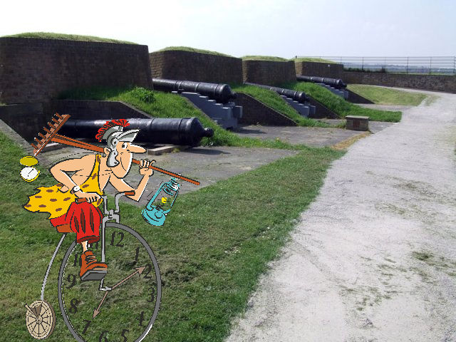 Rex at Fort Amherst