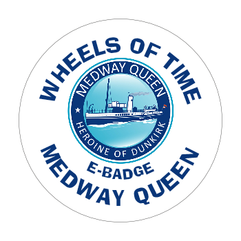 Medway Queen E-badge